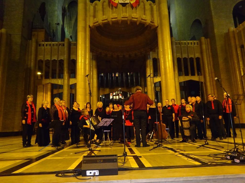 La Cle des Chants a la Basilique de Koekelberg - septembre 2017