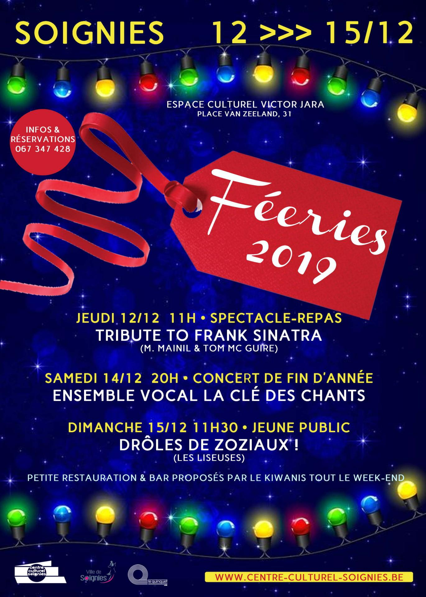 Concert Soignies 14/12/2019